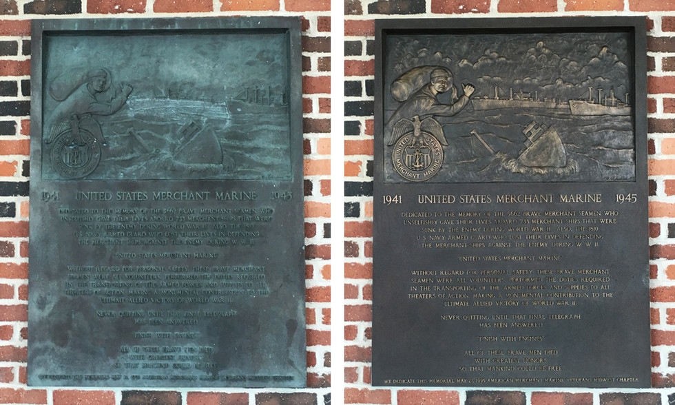 Bronze Plaque Restoration