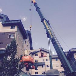 150 ton crane at Copper Mountain