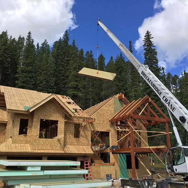 House build in Breck today