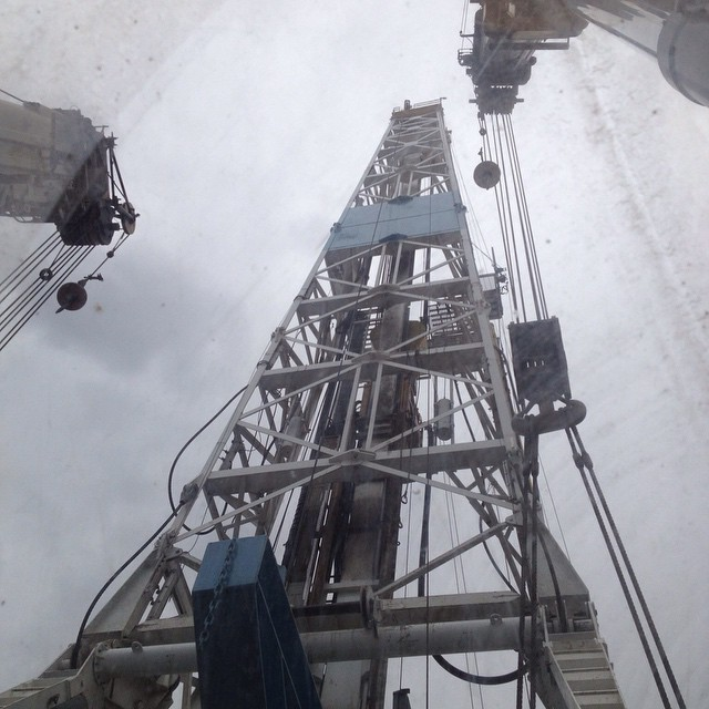 Oil rig skid.jpg Wyoming