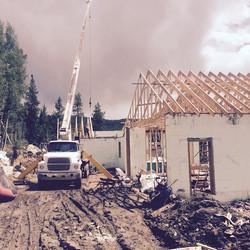 Breckenridge is building.jpg ROA setting trusses
