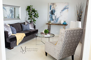 Marcia Gloria - Living Room - Staged