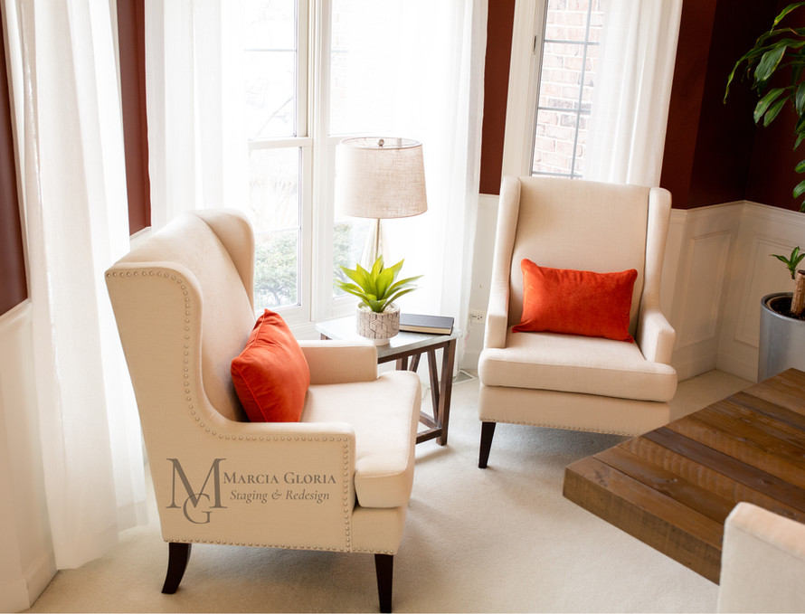 Formal Dining Room - Marcia Gloria Staging & Redesign