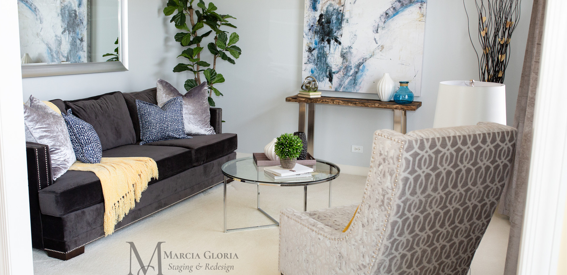 Marcia Gloria Staging & Redesign - Living Room