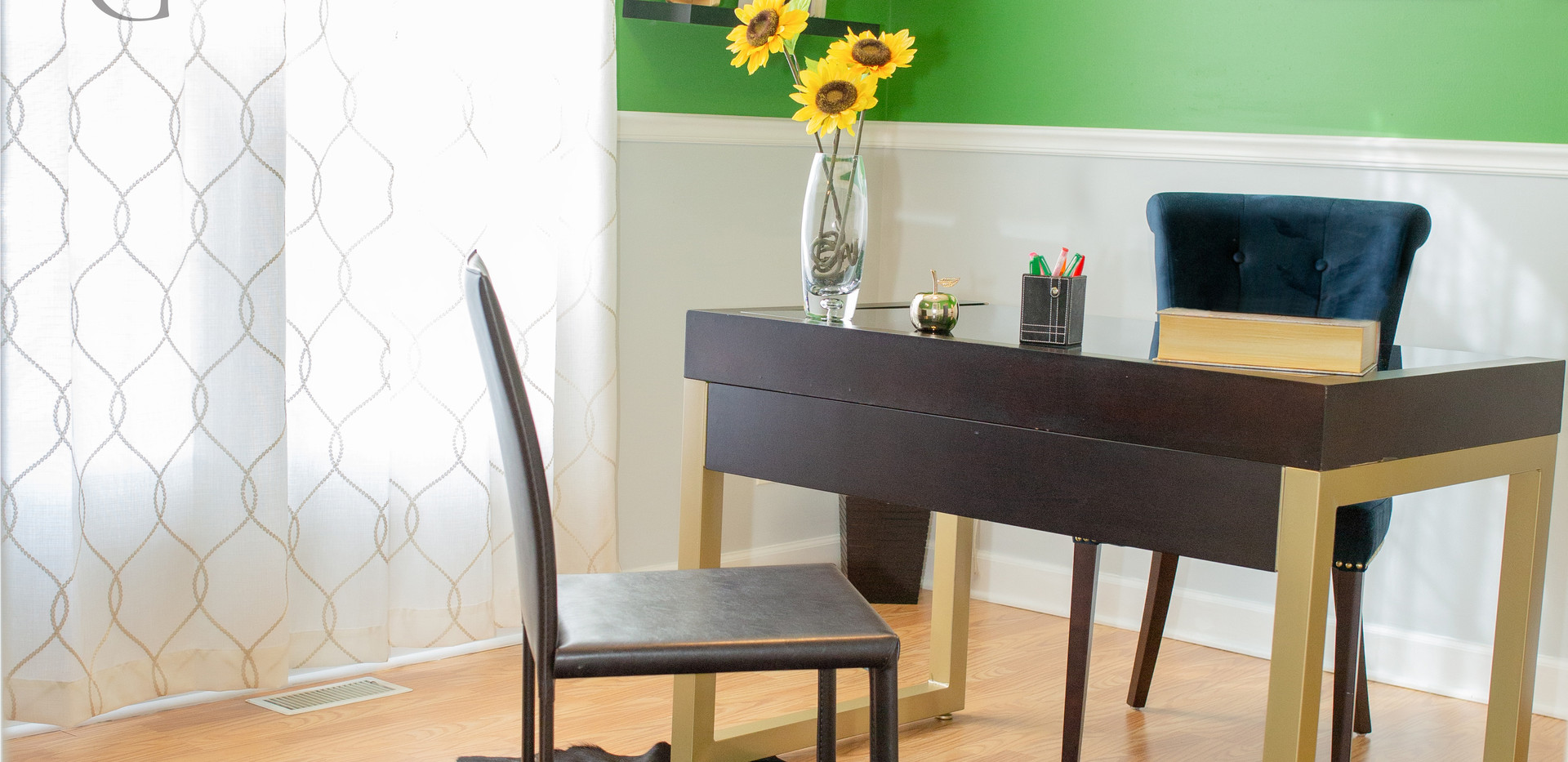 Home Office Staging - Marcia Gloria Staging & Redesign