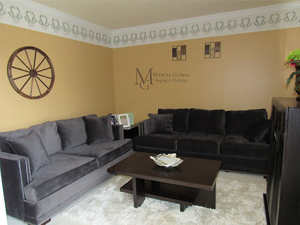 BEFORE-Marcia Gloria Formal Staged Formal Living Room