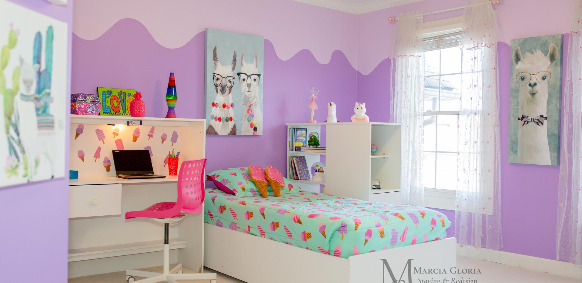 Kids Bedroom - Marcia Gloria Staging & Redesign