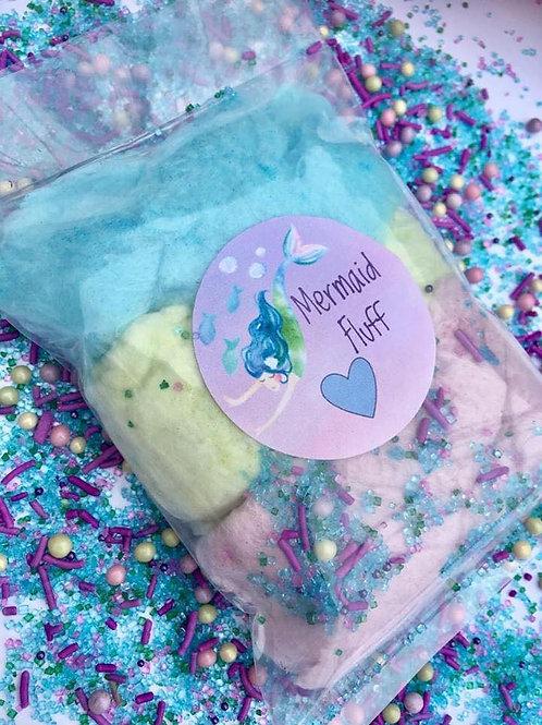 Mermaid Fluff Cotton Candy