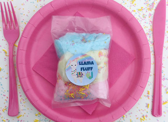 20 Pack - Laid Back Llama Fluff Cotton Candy