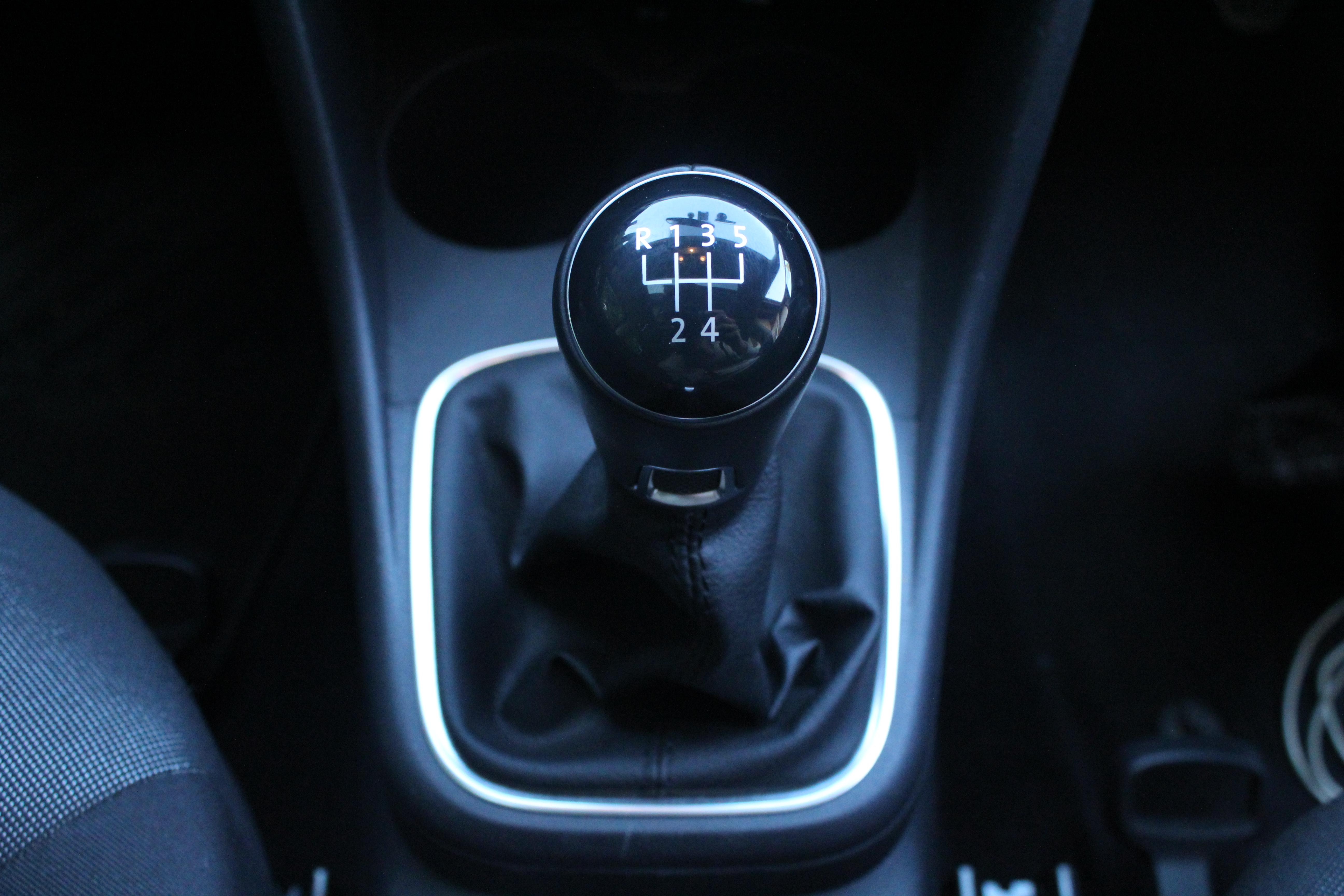 véhicule à boîte manuelle