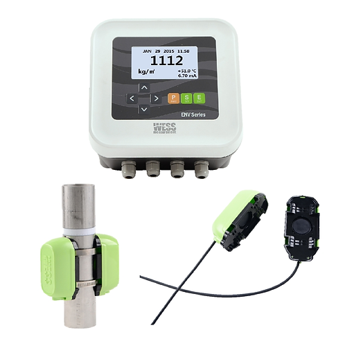 Clamp-On Ultrasonic Sludge Density Meter - ENV200C
