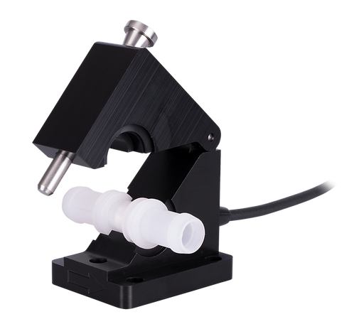Disposable PVDF Flow Sensor with Tubeholder System