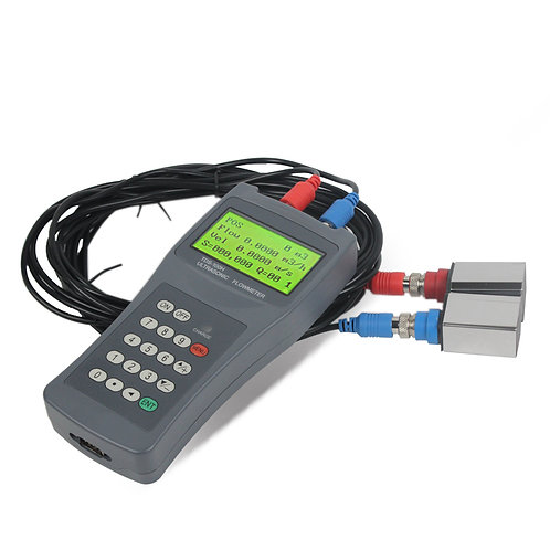 Portable Clamp on Ultrasonic Flow Meter - HYKO200
