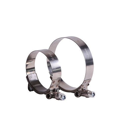 Steel Clamps (T Bolt type)
