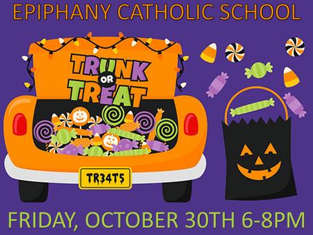 Trunk or Treat at Epiphany Catholic School