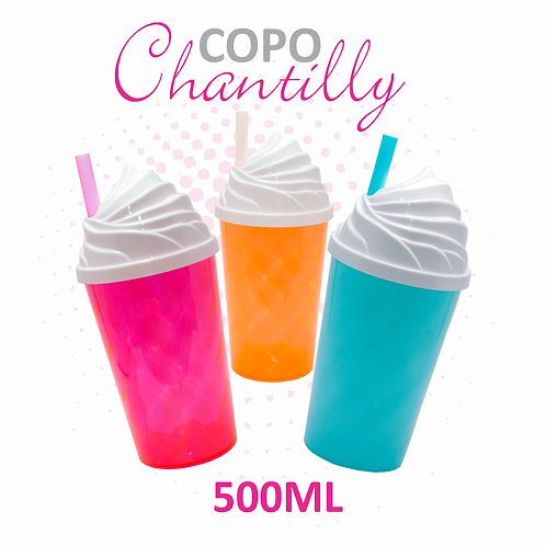 Copo Twister Chantilly - 100 unidades