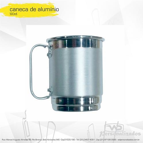 Canecas de Alumínio para Sublimação - 50 unidades