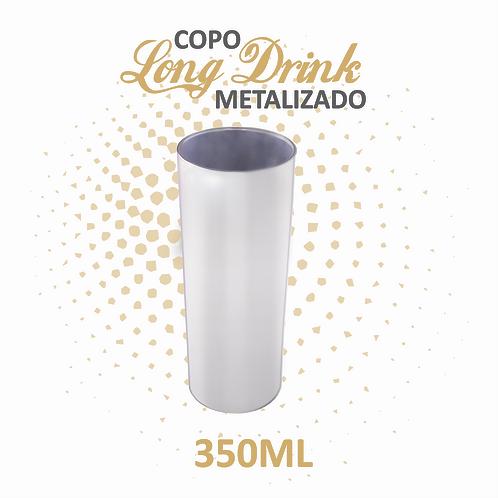 Long Drink Metalizado - 100 unidades