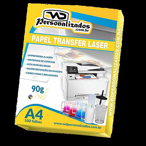 Papel Transfer Laser - 100 fls