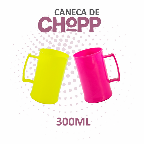 Caneca de Chopp - 300ml -  100 unidades