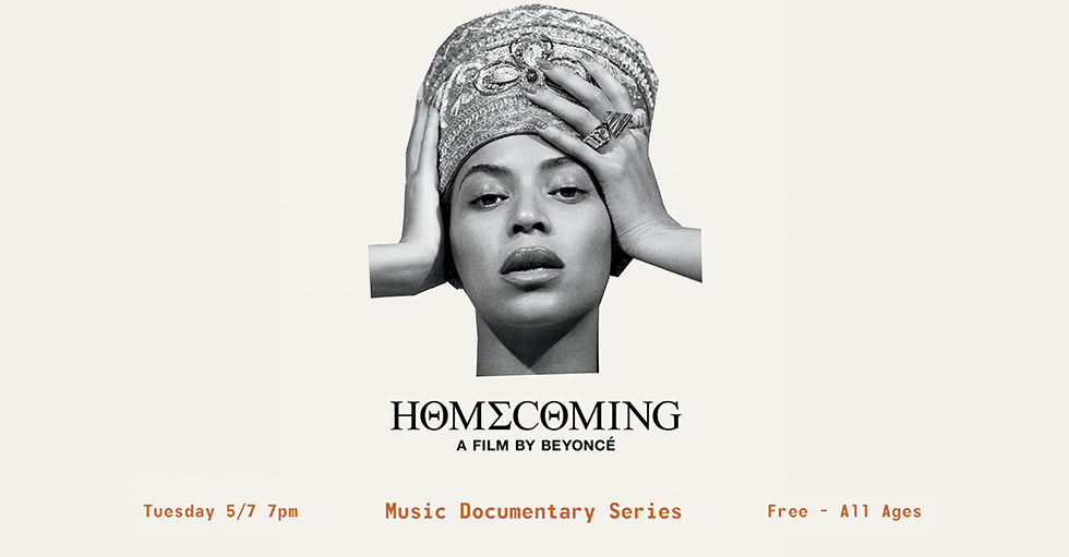 MUSIC DOCUMENTARY SERIES FEATURING HOMECOMING