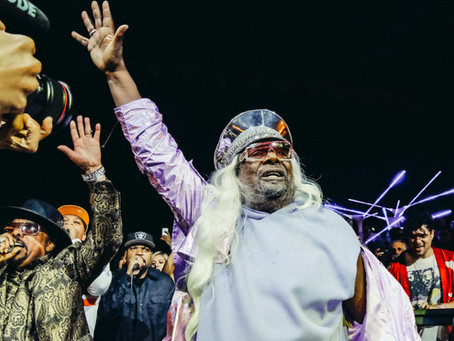 GEORGE CLINTON'S LIFETIME GRAMMY AWARD PARTY
