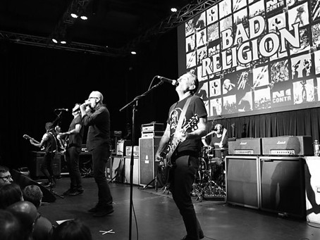 KROQ and HD Radio Sound Space Pop Up with Bad Religion