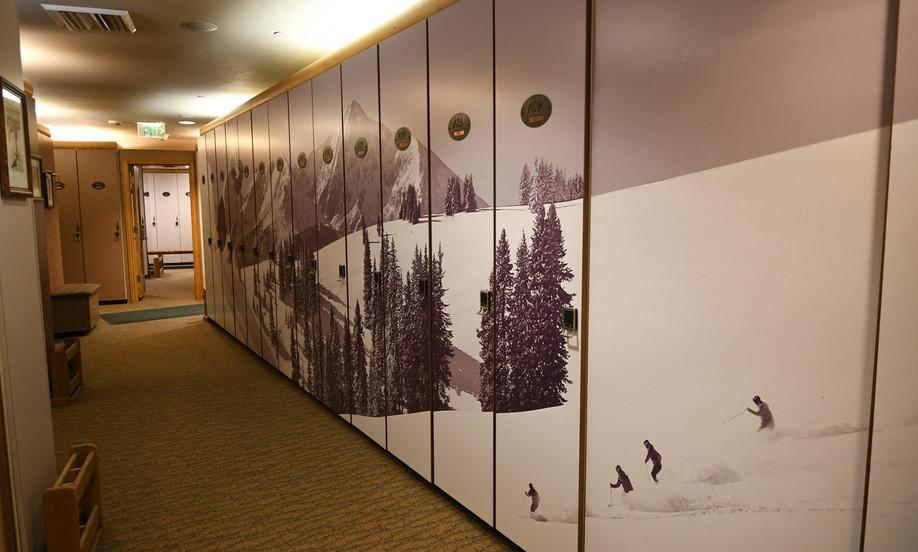 Club One Ski Storage in Gondola One
