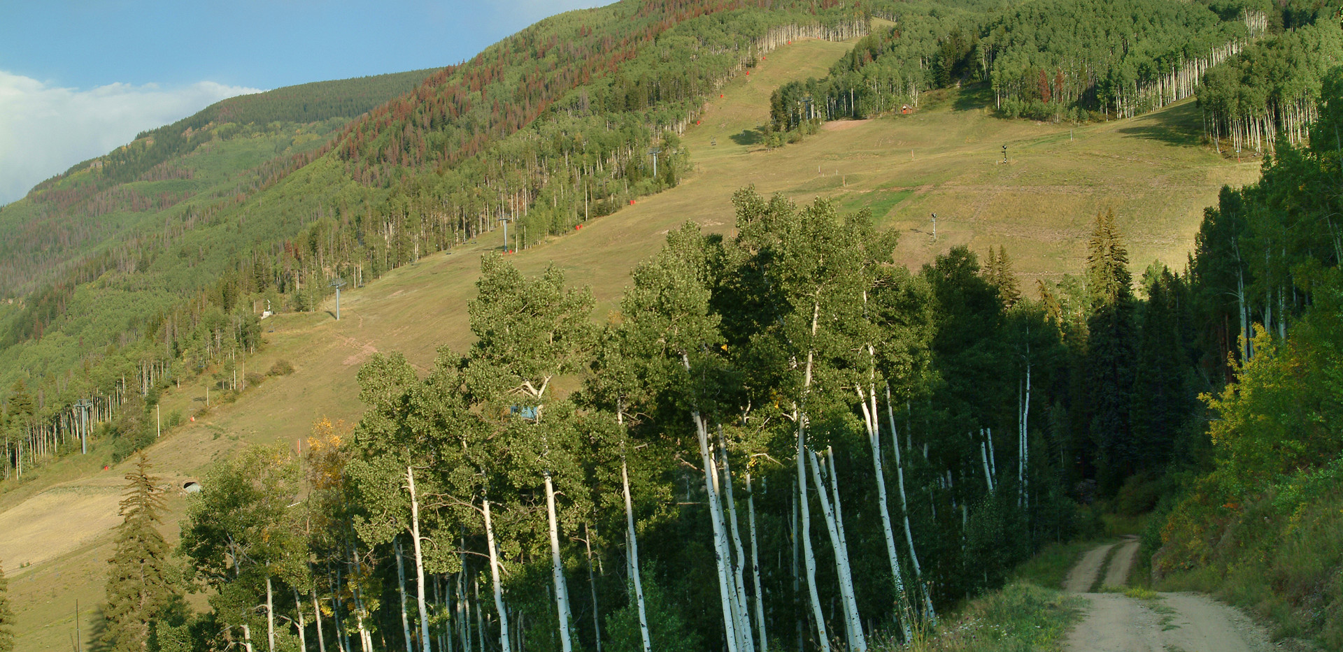 View of Vail Mountain