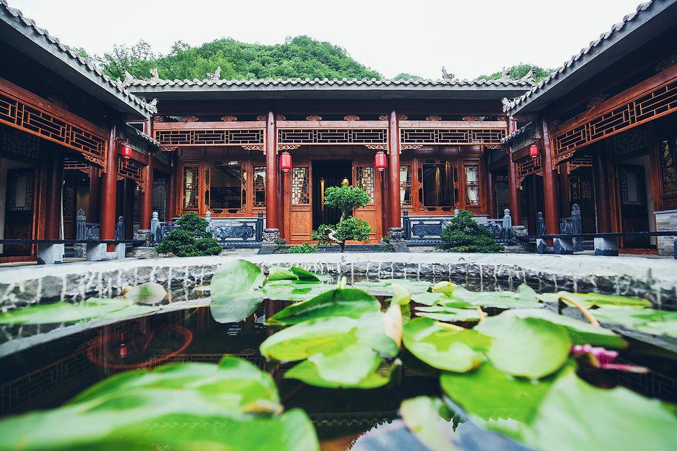 Chinese Style Quadrangle