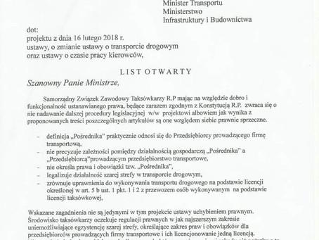Konferencja w Toruniu w sprawie nowelizacji Ustawy Transportowej