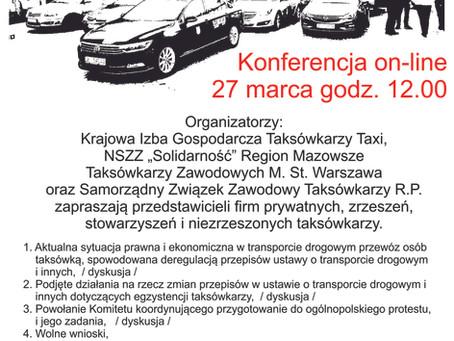 I Ogólnopolska Konferencja Taksówkarzy