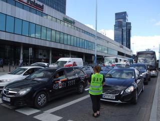 Protest Taksówkarzy 5 czerwca Warszawa