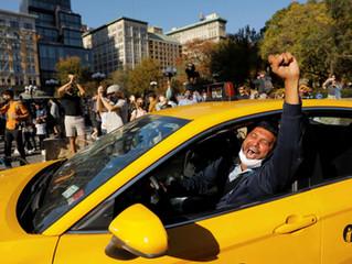 Joe Baiden prezydentem USA! Czy Demokraci wezmą Ubera za D....?