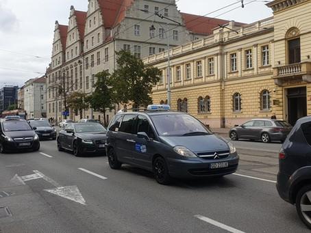 PROTEST ostrzegawczy w Gdańsku
