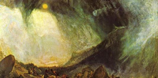 Turner, Bufera di neve - Annibale e il s