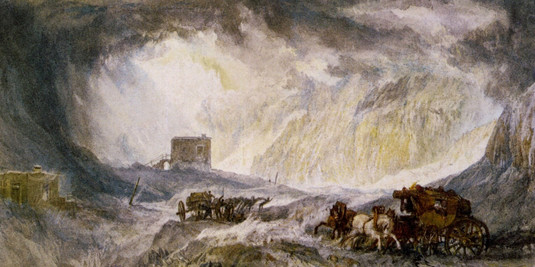 Turner - Tempesta di neve - Passage of M