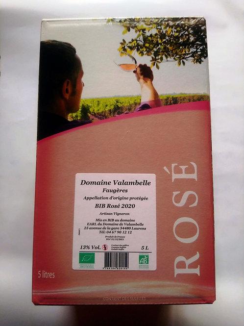 BIB Rosé 5L AOC Faugères
