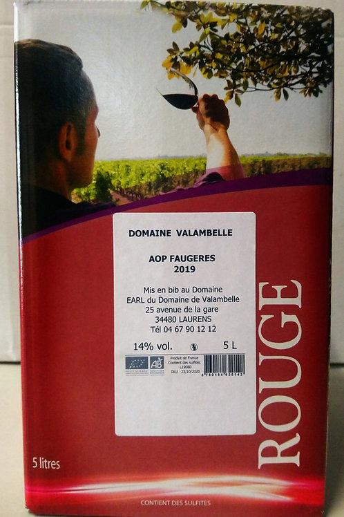 BIB Rouge 5L AOC Faugères