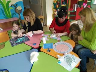 Изготовление тряпичных кукол для музея игрушек