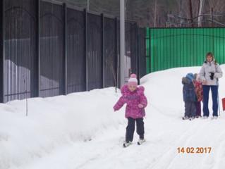 Малая лыжня!