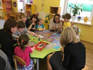 """Мастер-класс для родителей """"Карандашница в технике """"Оригами"""""""