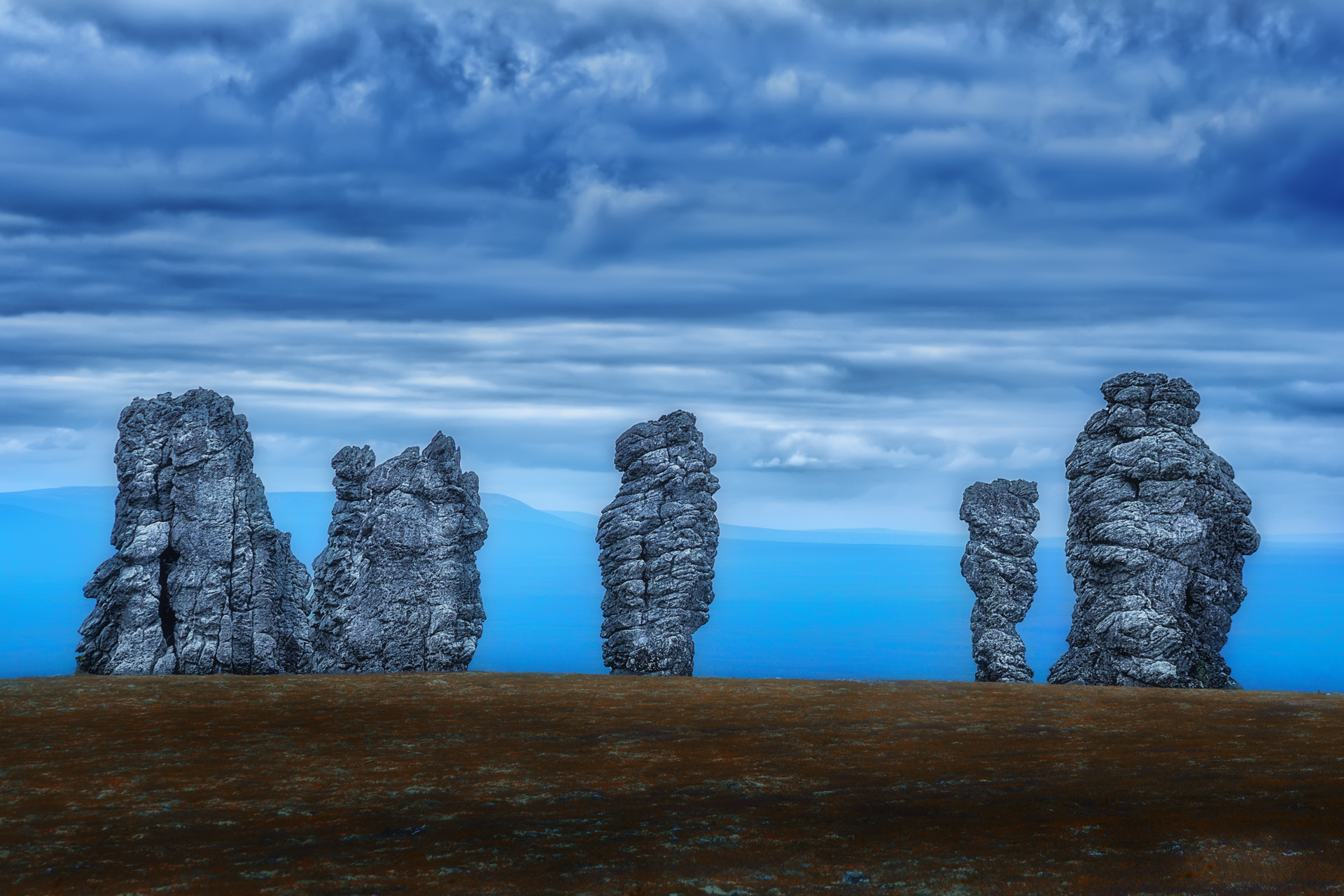 Пейзаж_Молчание каменных великанов