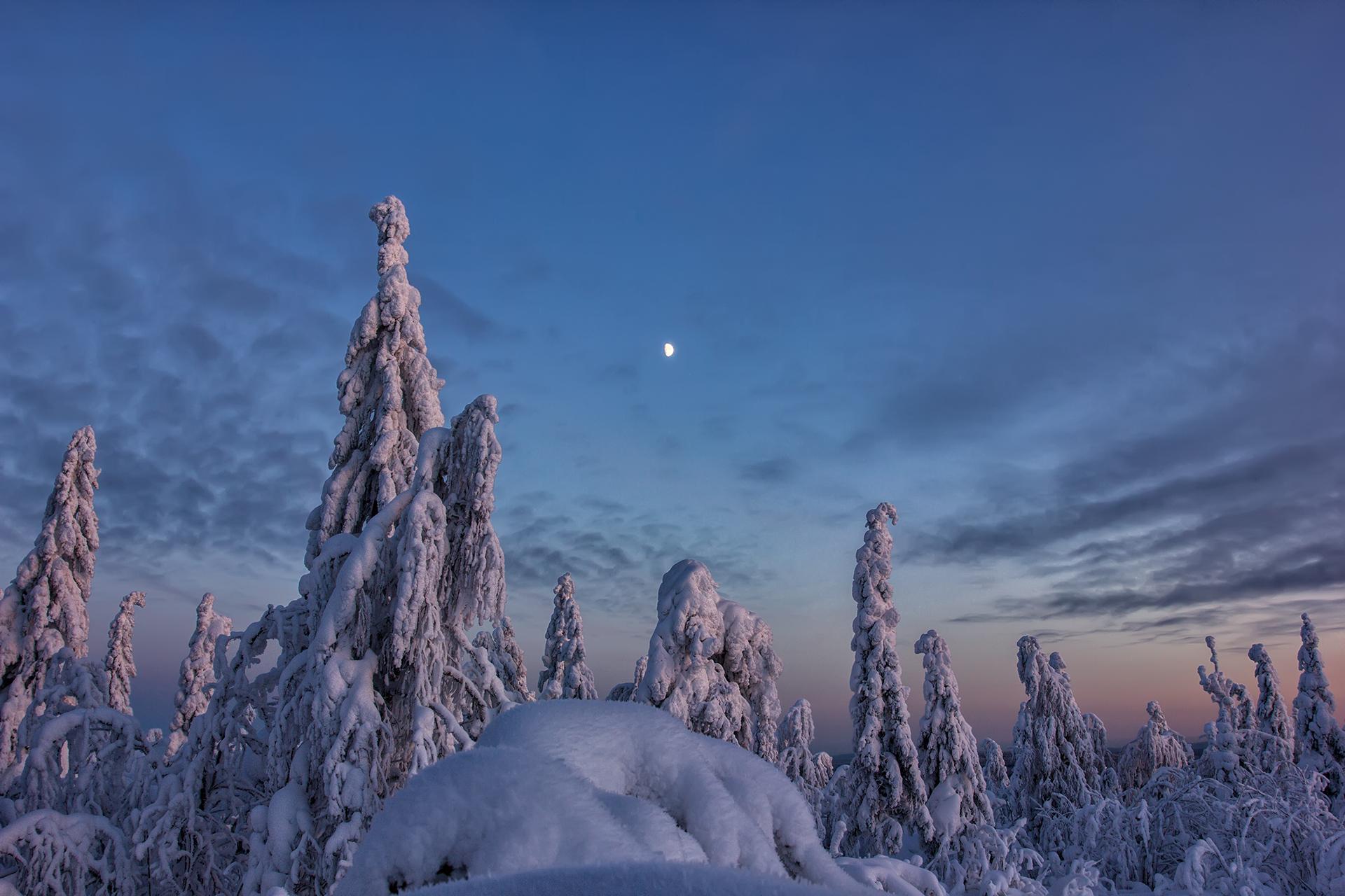 Пейзаж_Вечерние краски
