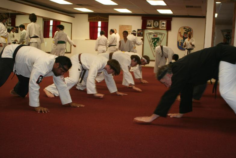 Physical Fitness Through Karate