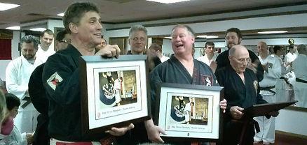 Karate awards and promotions, Lakeland Karate, Denville, NJ.