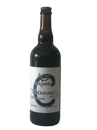 Caribrew - bière brune La Ténébrune 0,75