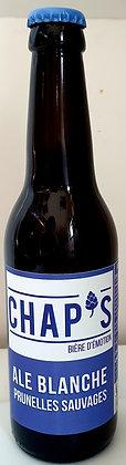 Bière Chap's - ALE Blanche Prunelles Sauvages