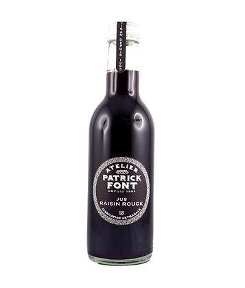 Jus de raisin noir 0,25 l Patrick Font