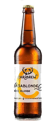 Caribrew - bière blonde Vagablonde 0,75